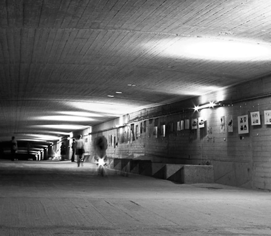 "Ausstellung ""Designtunnel"""
